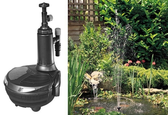 EasyClear – фильтр, насос, УФ-осветлитель и фонтан (водопад) в одном аппарате