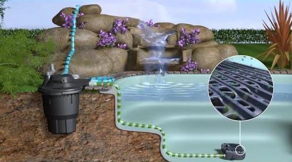 Насос Aquaforce и фильтр Bioforce – схема работы